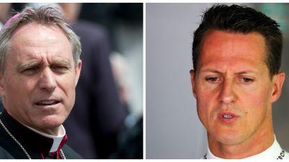 """Aartsbisschop bezocht Michael Schumacher in woning in Genève: """"Ik gaf hem een kruisje op zijn voorhoofd"""""""