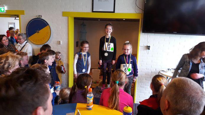 De allerjongste winnaars van de Kerkwijk Cross.