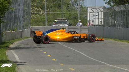 """Onze F1-watcher in Canada ziet Vandoorne remfoutje maken en stelt vast dat het weer voor geen meter loopt bij McLaren: """"Hopen op goeie strategie"""""""
