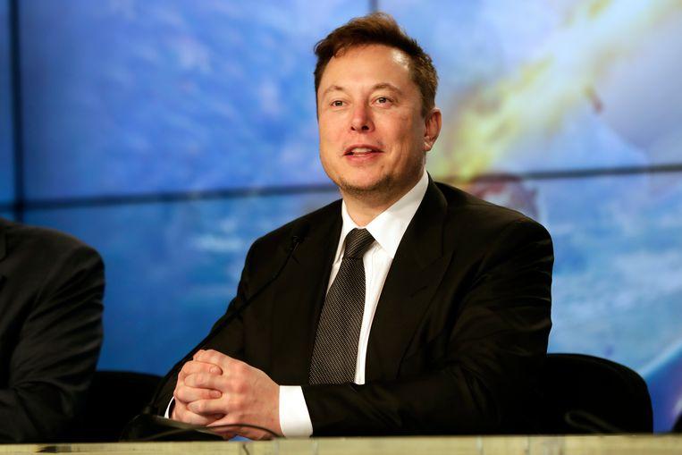 Tesla-baas Elon Musk. Beeld AP