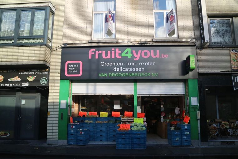 Fruit4you ligt in de Brugse Poort en in Sint-Amandsberg.