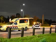 Motorrijder ten val na botsing in IJsselstein, fietsster rijdt door