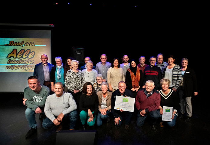 dankavond voor de Laarbeekse vrijwilligers in Aarle Rixtel, met de genomineerde vrijwilligers