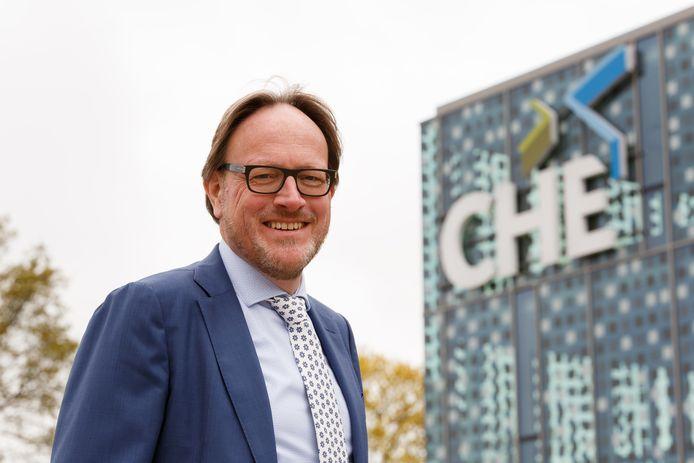 Harmen van Wijnen, voorzitter van het college van bestuur van de Christelijke Hogeschool Ede.