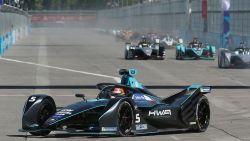 D'Ambrosio eindigt op zevende plaats Formule E in Sanya, Vandoorne moet opgeven