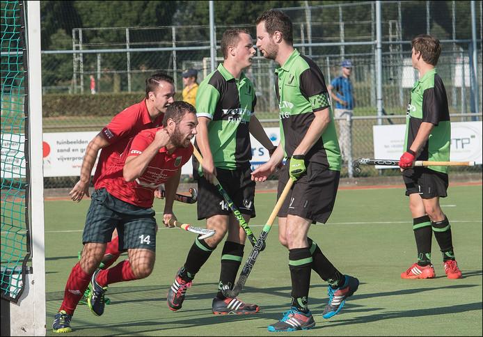 De hockeyers van Boxmeer bereiken de tweede ronde van het bekertoernooi. Archieffoto
