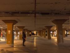 Kunstexpositie op 8ste verdieping Veemgebouw Eindhoven