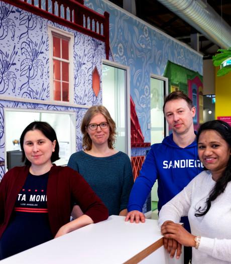 Pingpongen over rug van kind; ouders boos over einde Kluppluz in Eindhoven