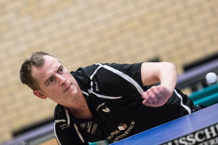 Jurgen Pastoors verloor tweemaal tegen Scyedam.