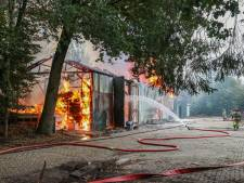 Duizenden euro's opgehaald na brand bij manege met filmsterren in Emmeloord: 'Steun hartverwarmend'