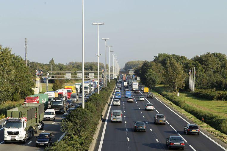 Tijdens de werken zal er een snelheidsbeperking gelden van 70 km/uur.