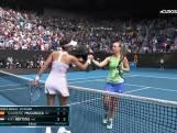 Bertens verliest van Muguruza en ligt uit Australian Open