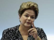 La popularité de la présidente brésilienne chute de 30%