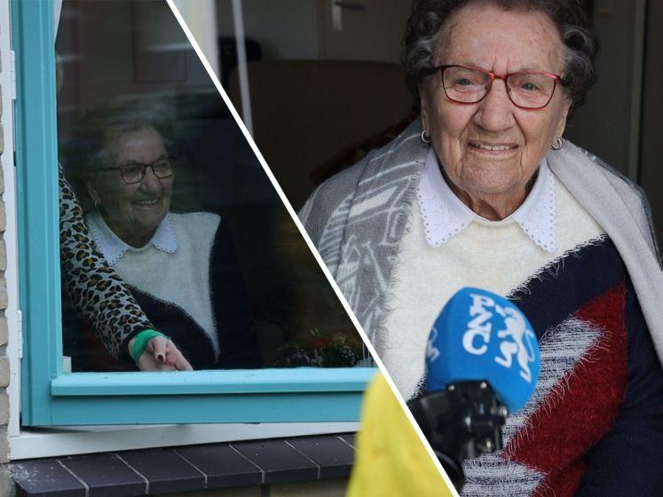 Anna Ivens-de Rijcke viert vandaag haar 100ste verjaardag