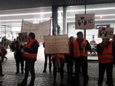 NS vertoont zich niet: protest slachtoffers chroom-6 blijft stil
