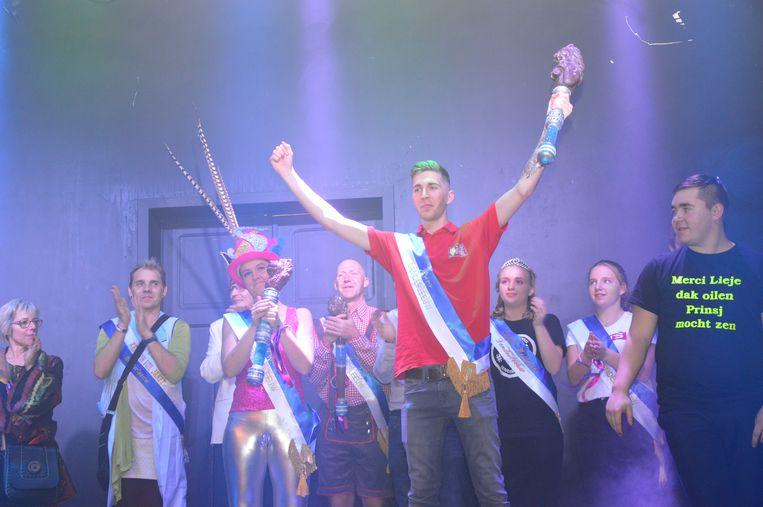 Archiefbeeld Jari Van de Velde en Sofie Depuydt werden vorig jaar verkozen als prins en prinses carnaval Denderleeuw.