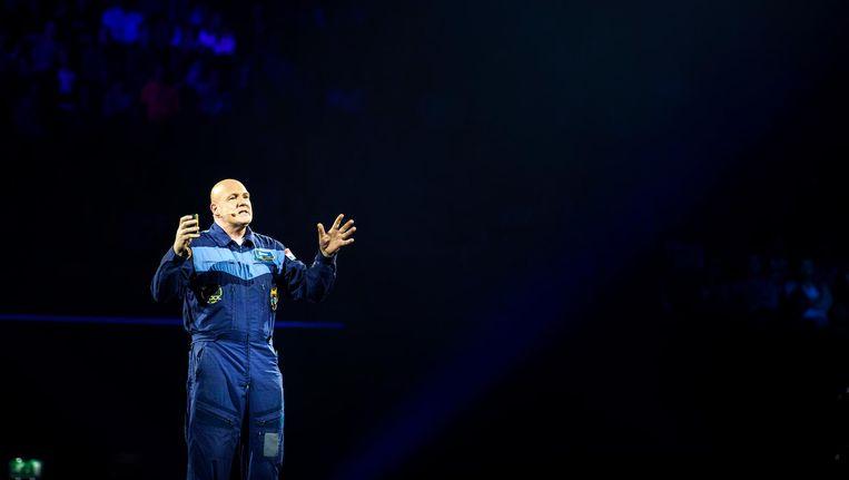 André Kuipers nam zijn publiek zaterdag mee op ruimtereis Beeld anp