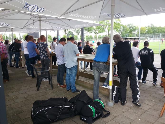 Het publiek vermaakte zich prima tijdens de Bossche cup.