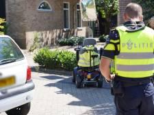 Bestuurder scootmobiel gewond na ongeluk in Raamsdonk