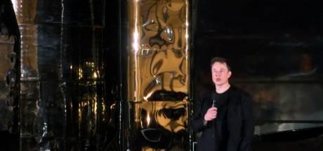 Elon Musk presenteert ruimtevaartuig voor trip naar Mars