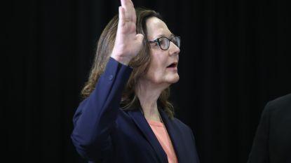 Gina Haspel ingezworen als eerste vrouw aan hoofd van CIA