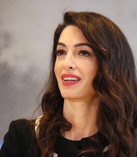 Amal Clooney wil nieuw tribunaal in Den Haag
