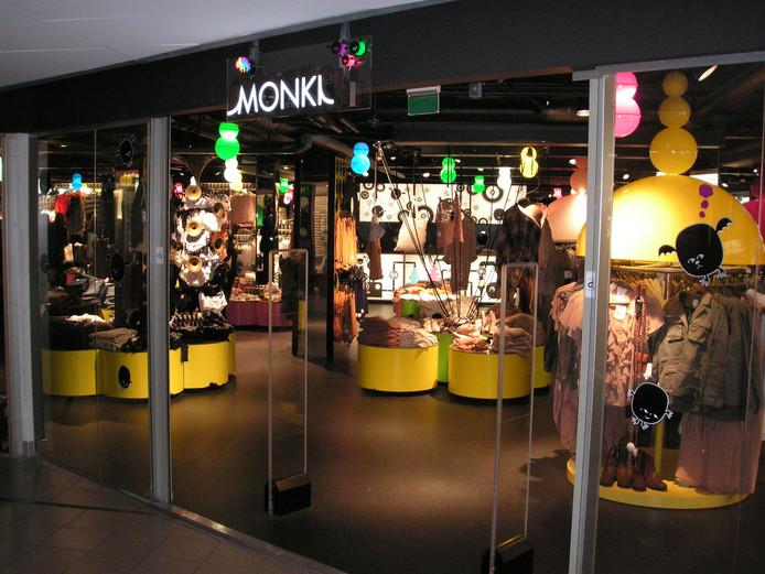 Een Zweeds filiaal van Monki, dat ook naar Arnhem komt.
