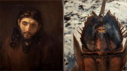 VIDEO: Jezus verschijnt nu ook op een krab