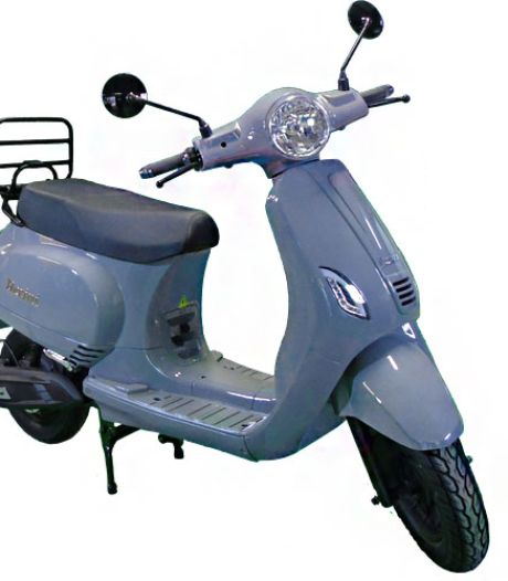 Deze scooter is snel, stil en schoon