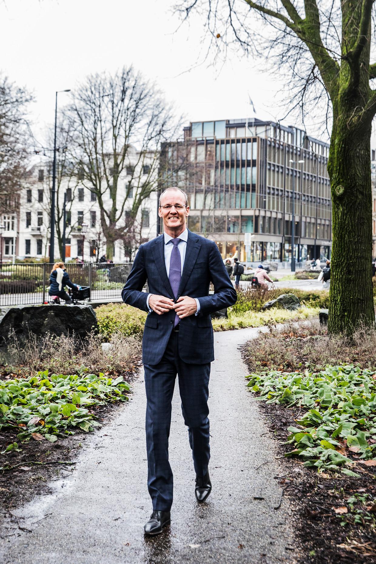 Klaas Knot, president van De Nederlandsche Bank. Beeld Aurélie Geurts