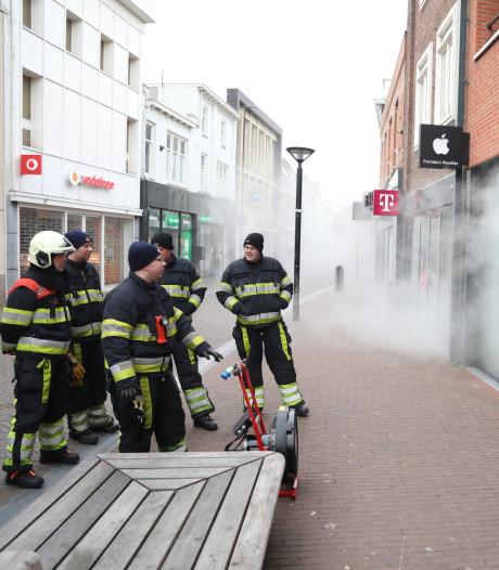 Inbraakalarm van Amac in Oss geactiveerd; pand staat vol met rook