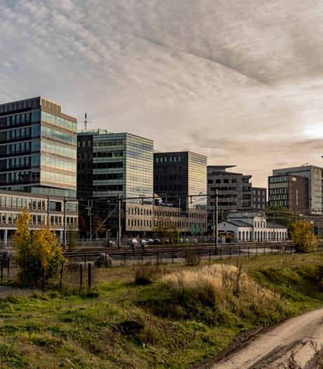 Station Amersfoort in stijl van kunstenaar Caspar van Wittel