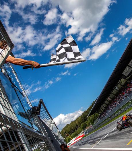 Traditionele finishvlag keert terug in Formule 1