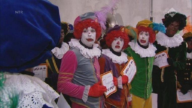 De clownspieten. Beeld Sinterklaasjournaal