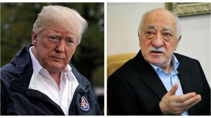"""Trump: """"Uitlevering van Turkse prediker Fethullah Gülen aan Turkije is niet aan de orde"""""""
