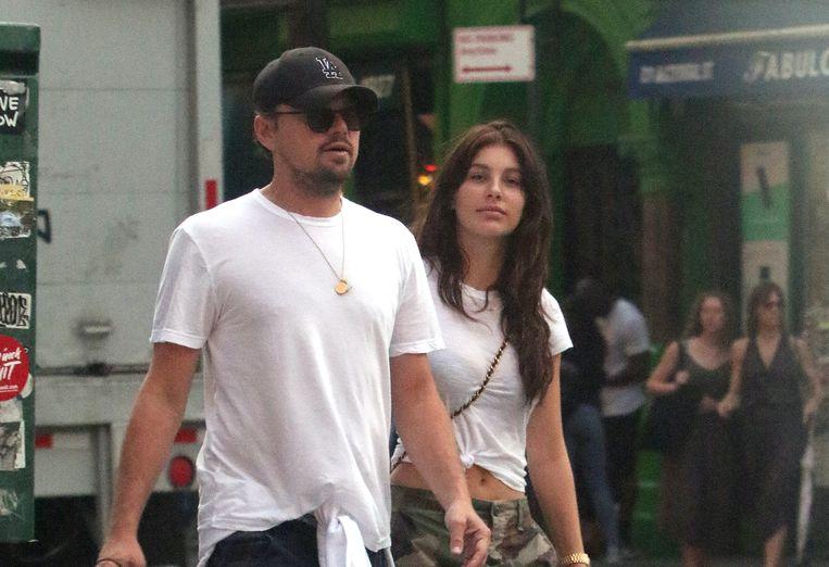 Leonardo DiCaprio en Camila Morrone