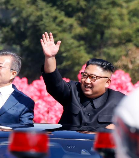 Driedaagse top Korea's van start na hartelijke ontvangst president Moon