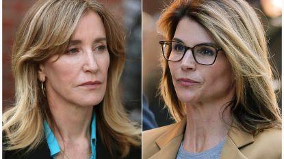 Hollywoodactrices die fraude pleegden op universiteiten zwijgen in rechtbank