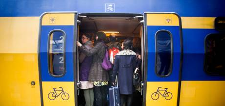 Geen treinen van en naar Woerden