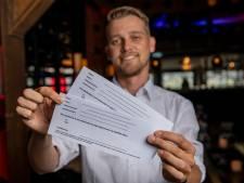 Restaurant in Teuge laat gasten contract tekenen: coronaboete van 4000 euro is voor u