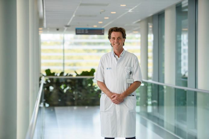 Cardioloog en hoogleraar Lukas Dekker.