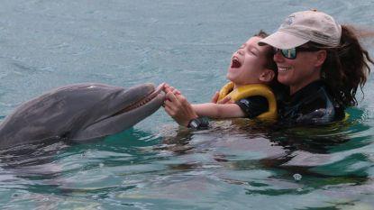 Dolfijnentherapie in Curaçao schot in de roos