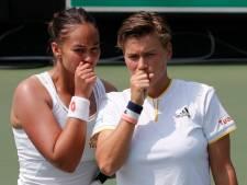 Lesley Kerkhove zorgt met Demi Schuurs voor enige setzege in verloren Fed Cupduel