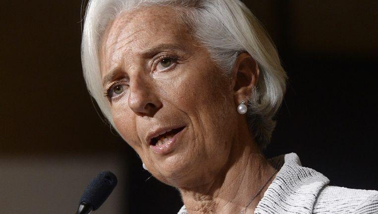 IMF-topvrouw Christine Lagarde.