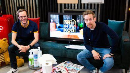 Cleymans & Van Geel brengen nieuwe single en ook Regi kan zingen in 'Blijf In Uw Kot'
