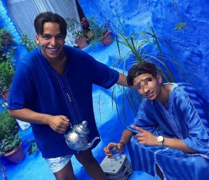 Rapper Soufiane Eddyani wil zijn vriend Moreno (rechts), in beroep veroordeeld tot zes jaar cel voor het seksueel uitbuiten van een kwetsbaar vijftienjarig meisje, helpen om zijn carrière te herlanceren.
