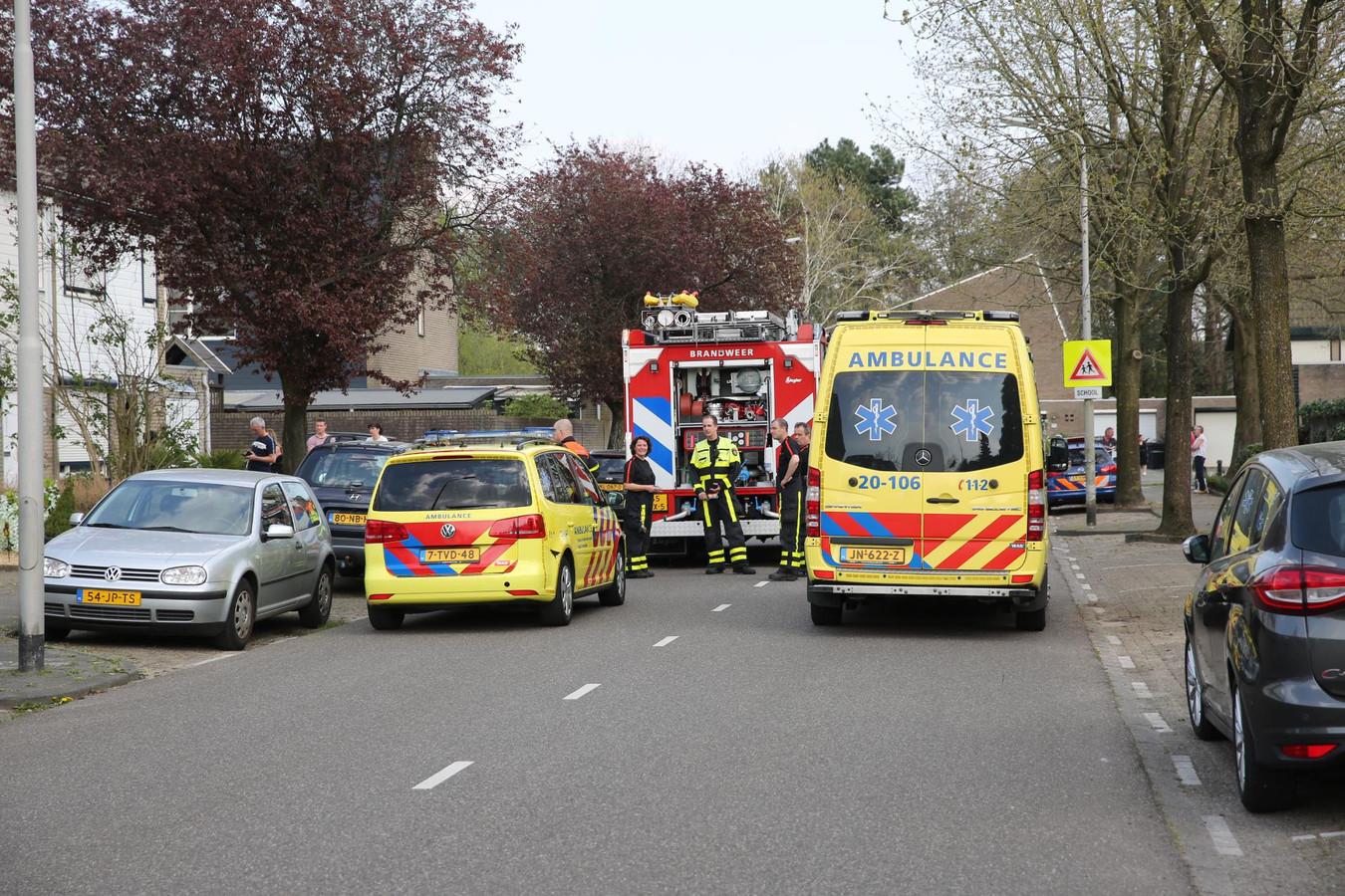 Twee gewonden na een ongeluk in Roosendaal.