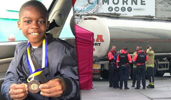 De 11-jarige Celio kwam deze ochtend om het leven in het centrum van Aalst.