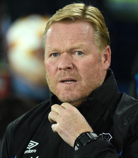 Ronald Koeman ontslagen bij Everton