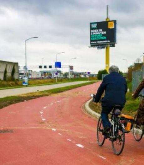 De eerste meters van het snelfietspad tussen Zaltbommel en Den Bosch